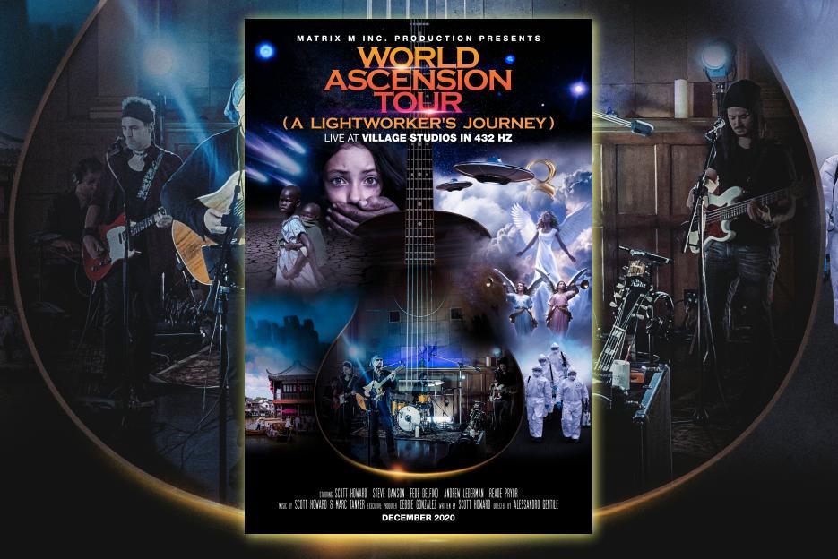 """SCOTT HOWARD – """"World Ascension Tour Concert"""" Exclusive Review!"""